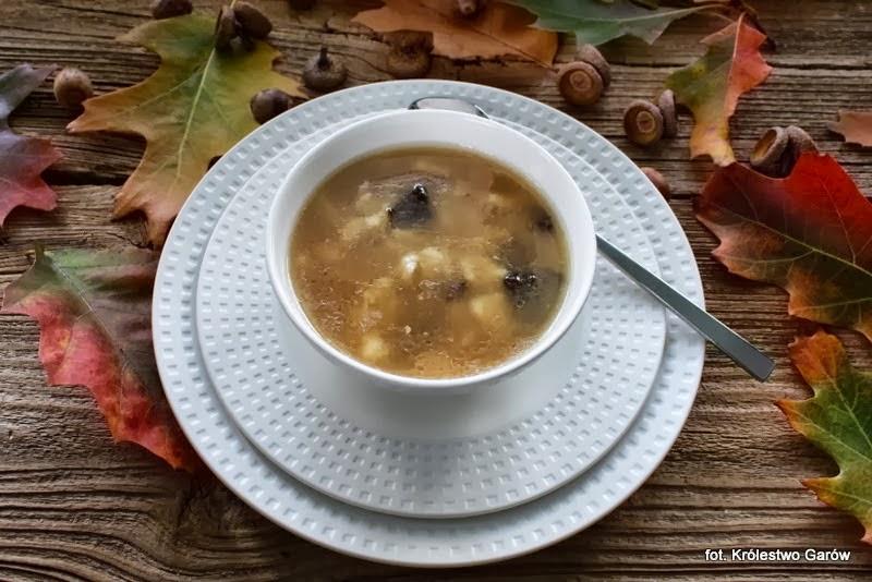Blog O Gotowaniu Tradycyjna Kuchnia Zupa Z Gęsi Z Zacierkami