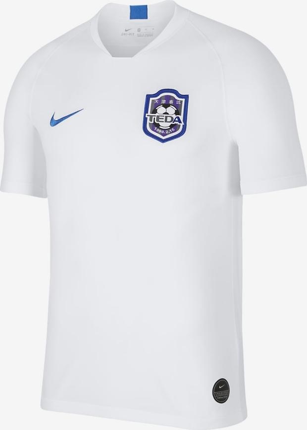 7de260f99011a Nike lança a nova camisa titular do Tianjin Teda - Show de Camisas