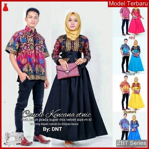 ZBT07309 Kebaya Batik Couple Gamis Kencana Lurik BMGShop