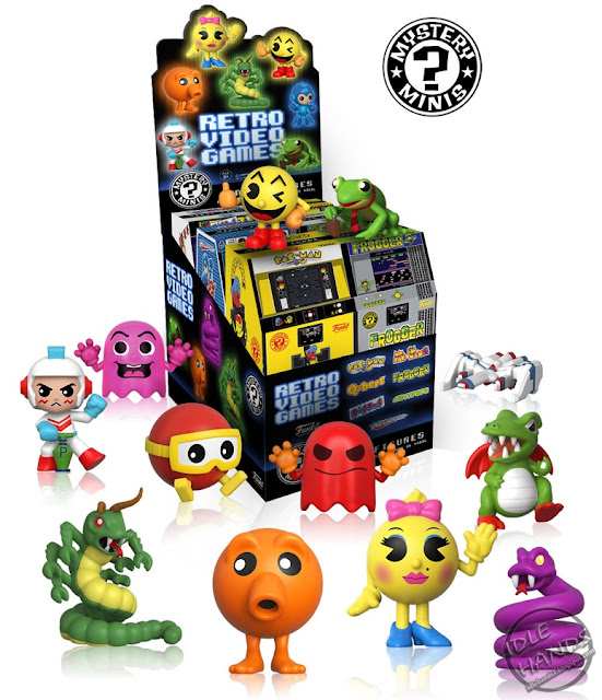 Toy Fair 2017 Funko Retro Video Game Mystery Minis