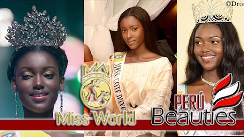 Tara Gueye es Miss World Côte d'Ivoire 2019