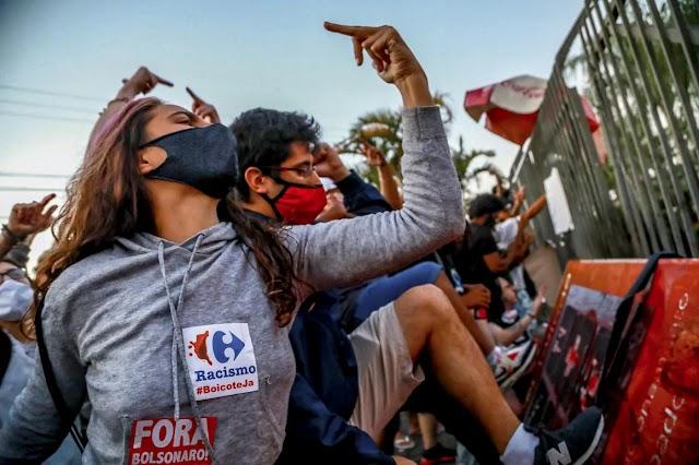 Most Brazíliában tombol a Black Lives Matter – egy áruházban agyonvertek egy fekete férfit