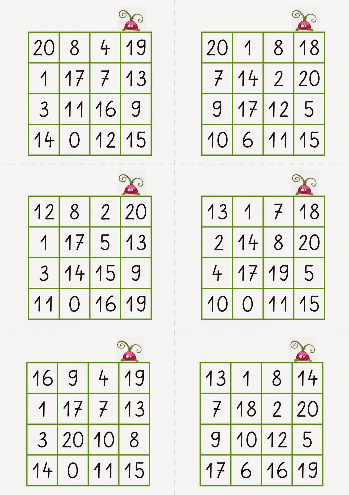 Bingo Zahlen