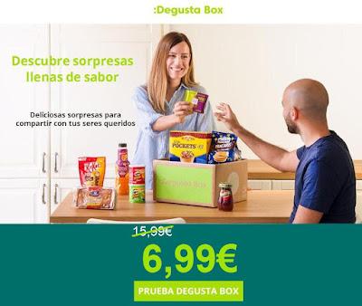 Prueba Degusta Box por sólo 6,99€