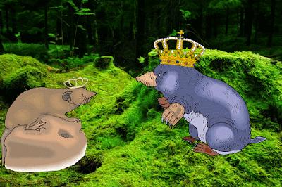 El Rey de los Topos y su Hija Alejandro Dumas