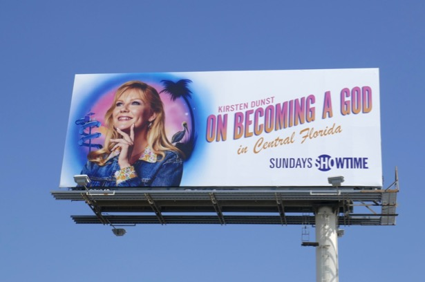 On Becoming a God in Central Florida series billboard