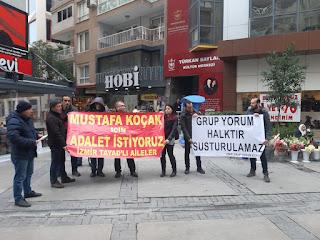 İzmir TAYAD'lı Aileler Basın Açıklaması Yaptılar
