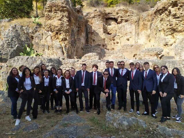 Η πρώτη επίσκεψη των μελλοντικών Τουριστικών Πρακτόρων της Τουριστικής Σχολής Άργους
