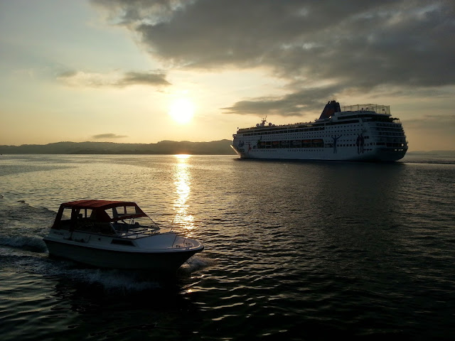 Cruise Ship Grand Mistral in Bergen, Norway