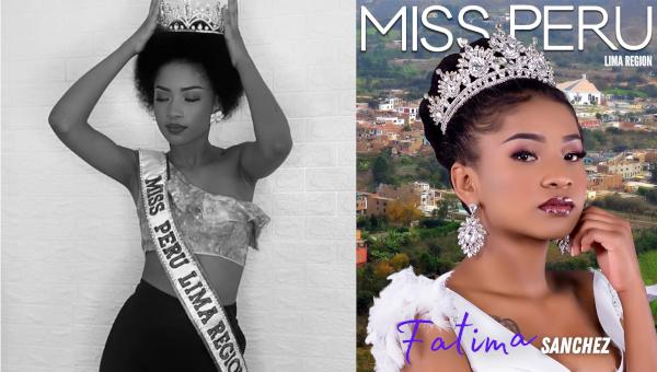 Fátima Sánchez es Miss Perú Lima Región 2021