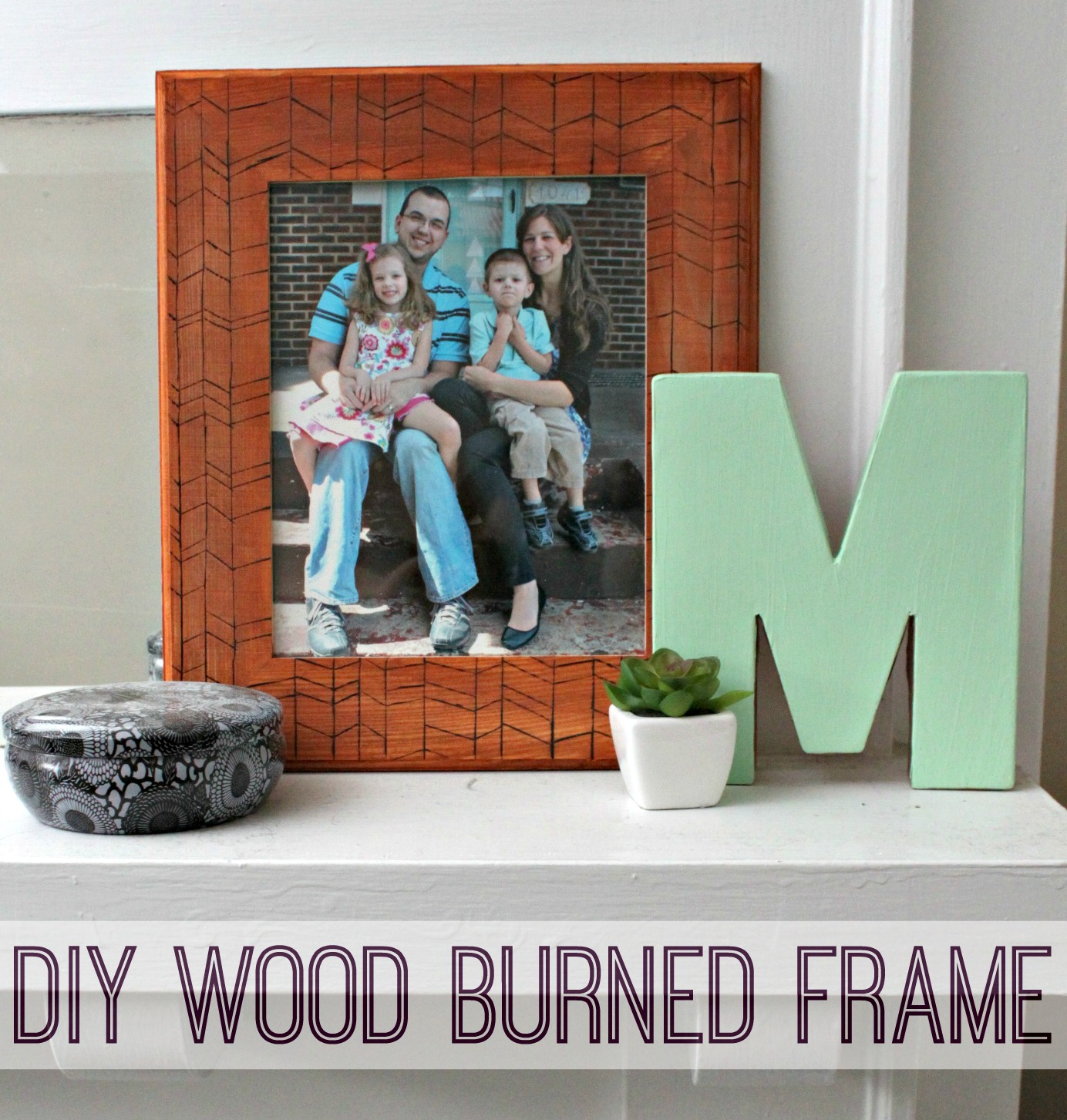 Eat Sleep Make Diy Wood Burned Picture Frame