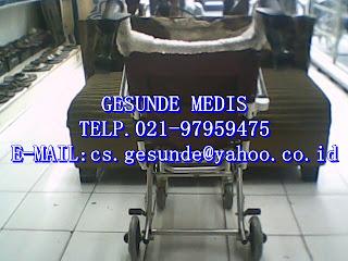 jual kursi roda travel dengan harga murah