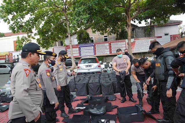 Kapolres Wonogiri Siagakan Pasukan untuk Antisipasi Unjuk Rasa Omnibus Law