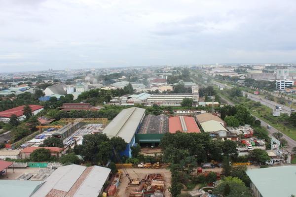 Một góc Khu công nghiệp Biên Hòa 1 (TP.Biên Hòa).