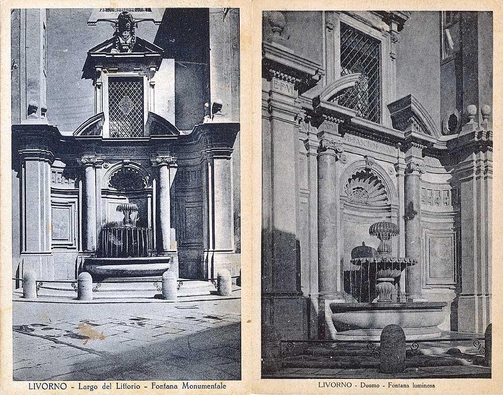 Livorno una foto al giorno: Fontana del Duomo