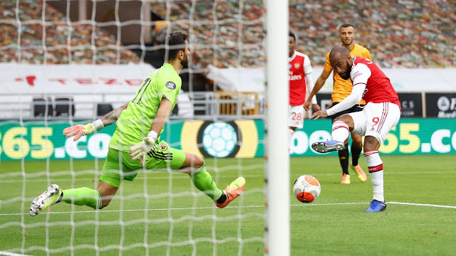 Los Gunners cazaron a los Wolves