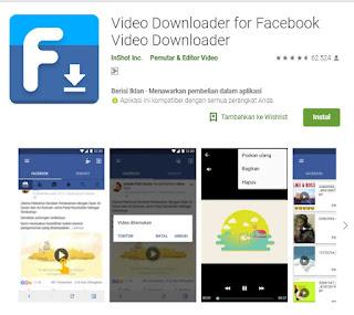 Download video, Aplikasi, Video downloader for facebook