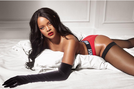 Rihanna oozes sex appeal in topless snap for Savage x Fenty