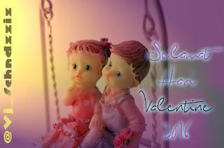 Kartu Ucapan Selamat Valentine Days