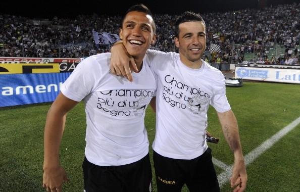 Sanchez e Di Natale, stelle dell'Udinese   numerosette.eu