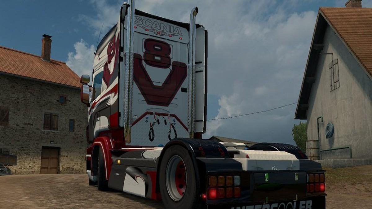 Scania RJL Metal Ripper Skin