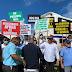 Transportistas turísticos protestan y anuncian paro de operaciones