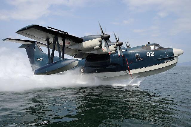 الطائرة البرمائية اليابانية ShinMaywa US-2