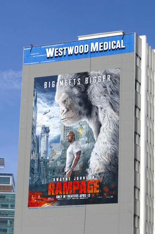 Giant Rampage movie billboard