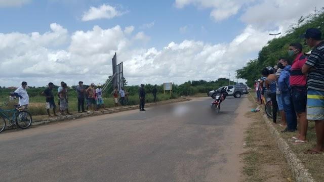 Vigilante morre em acidente de trânsito entre bicicleta e moto no Oeste potiguar