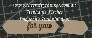 #thecraftythinker #stampinup #cardmaking , shortening the Classic Label Punch, Stampin' Up Australia Demonstrator, Stephanie Fischer, Sydney NSW