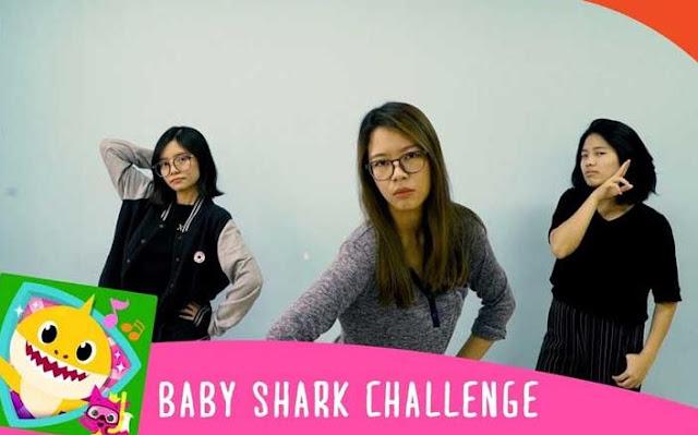 Viral Video Goyang Baby Shark Challenge di Media Sosial, Kocak banget!