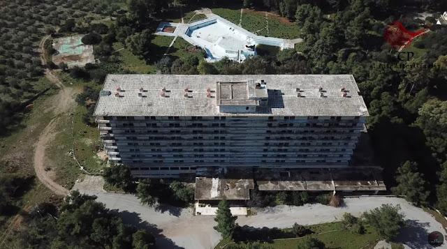 "Hotel Salanti: Τα εγκαταλελειμμένα πάλε ποτέ ""Σόδομα και Γόμορρα"" της Ελλάδας"" (βίντεο drone)"