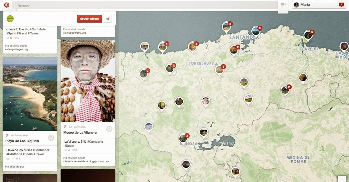 Pinterest Places Turismo de Cantabria