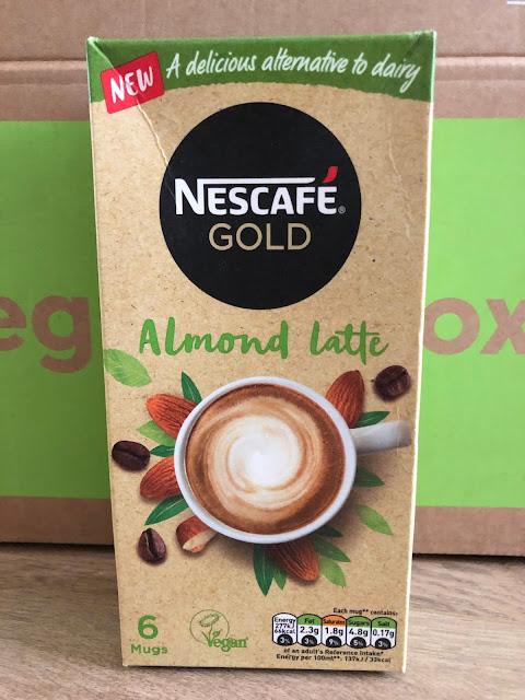 This vegan almond latte from Nescafe gold arrived in Degustabox January 2020.
