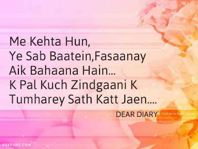 dear diary urdu poetry, love quotes, thoughts and silent words 19