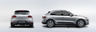 New 2016 Porsche Macan R4 SUV rear & side view Hd image