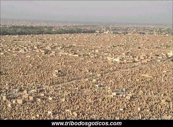 Wadi US-Salaam,cemiterio,grande,mundo,iraque