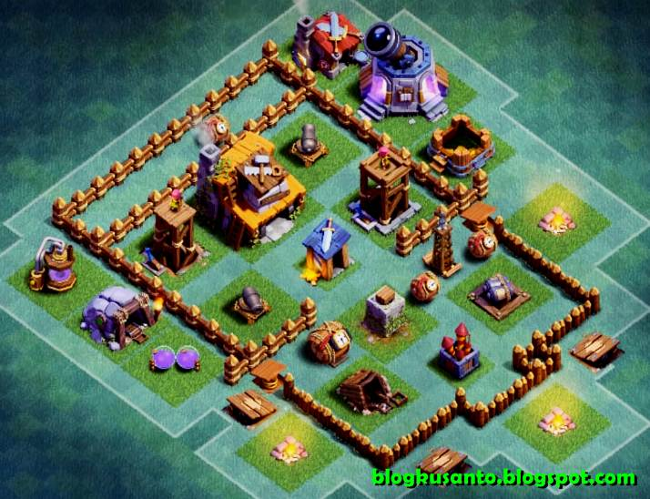 Base Coc Th 4 Desa Malam 10