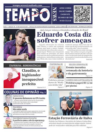 JORNAL TEMPO NEWS EDIÇÃO 78 - MAIO