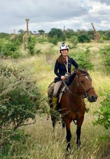 Riitta Reissaa, Botswana, ratsastussafari, HorseXplore