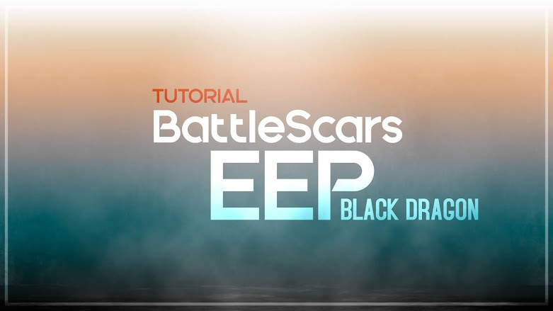 BATTLESCARS WINDLIGHTS TUTORIAL: How to IMPORT clouds in the new EEP version of BLACK DRAGON.