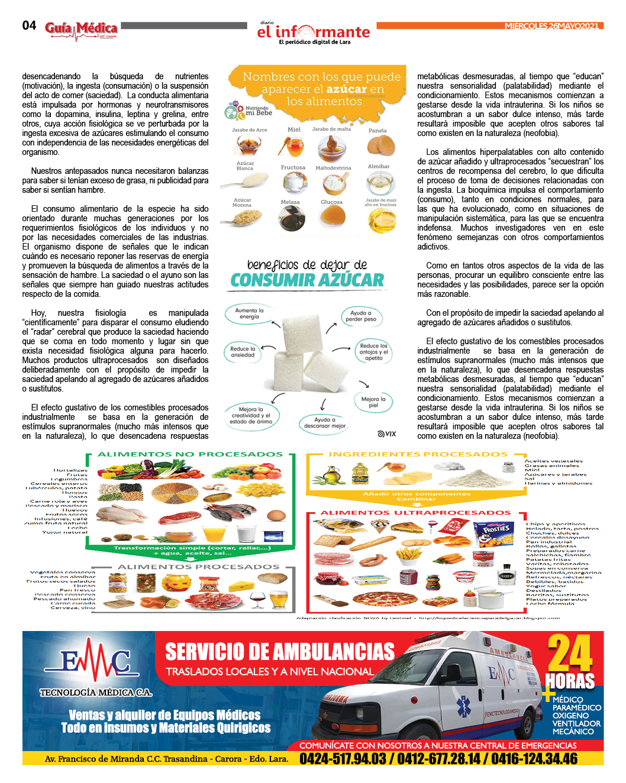 GUÍA MÉDICA EI INFORMANTE  -  Nº3