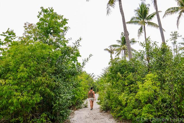 De Palm Beach à Lonely Beach - Koh Rong - Cambodge