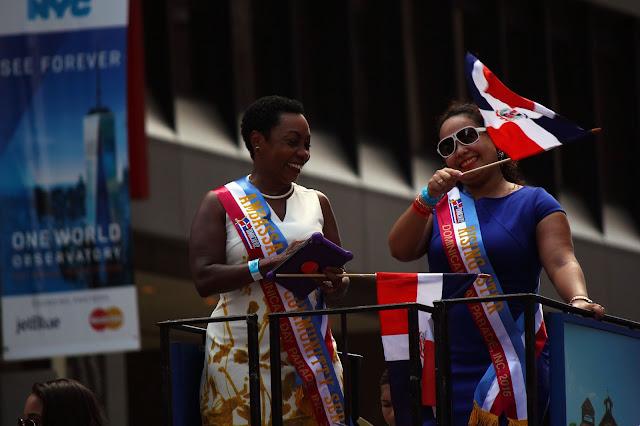 Desfile dominicano de Manhattan, Nueva York 2016