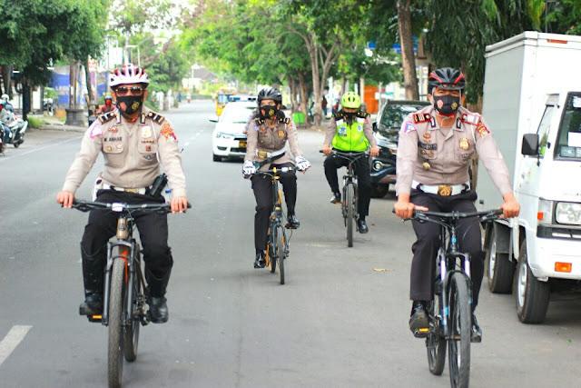 Wujudkan Kamseltibcar Lantas, Satlantas Polres Lotim laksanakan patroli pagi