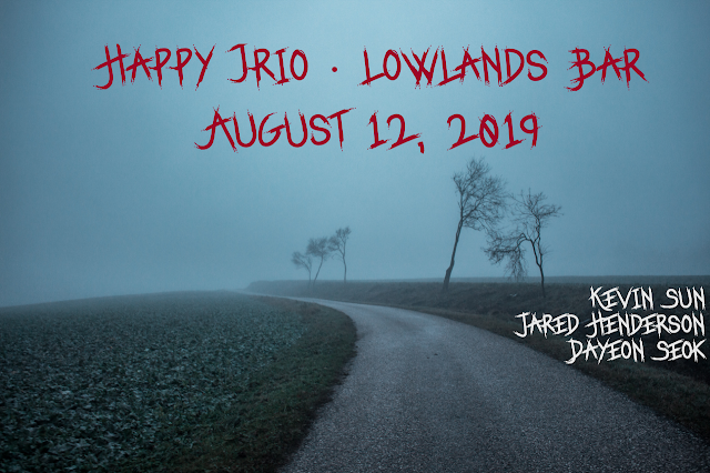 The Happy Trio Returns to Lowlands Bar in Gowanus on August 12, 2019