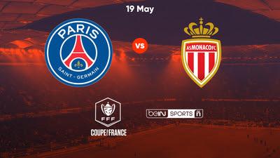مشاهدة مباراة باريس سان جيرمان ضد موناكو 19-05-2021 بث مباشر في نهائي كأس فرنسا
