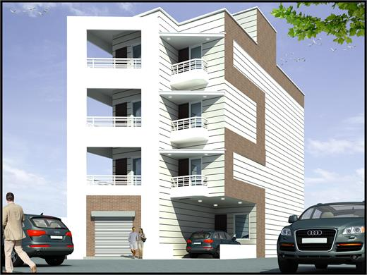 Bhosari Pune commercial Building Design
