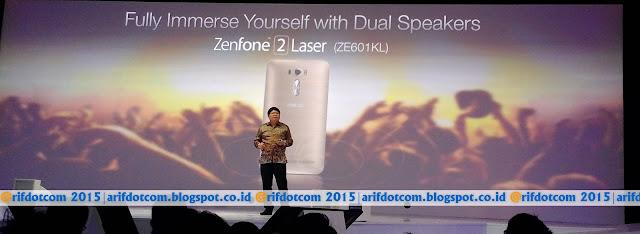 Zenfone 2 laser terbaik versi ZE601KL