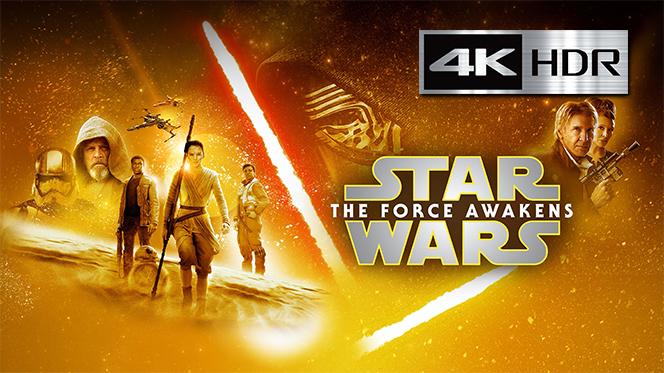 Star Wars: El despertar de la Fuerza (2015) 4K UHD [HDR] Latino-Castellano-Ingles